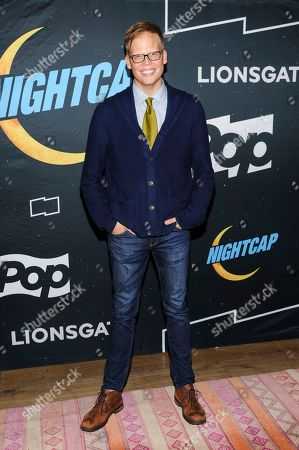 """Jeff Hiller attends a screening and premiere party for the scripted comedy series, """"Nightcap"""", at the Crosby Street Hotel, in New York"""