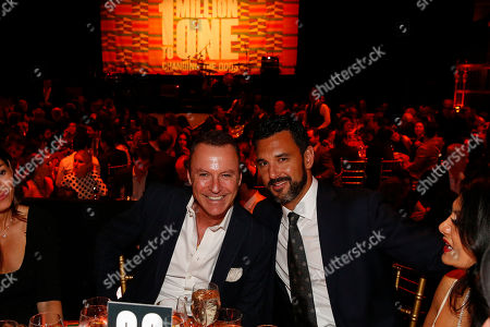 Colin Cowie and Curtis Troy seen at the Ubuntu Education Fund Gala at Gotham Hall, on in New York