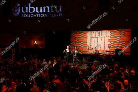 Editorial image of Ubuntu Education Fund Gala, New York, USA - 11 Jun 2015