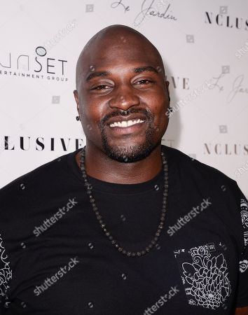 Marcellus Wiley seen at the 10th Annual All-Star Celebrity Kickoff Party at Le Jardin in Los Angeles on