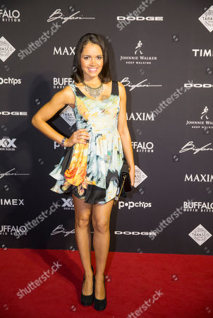 Susie Castillo arrives at the 2015 Maxim Super Bowl Party on in Scottsdale, Ariz