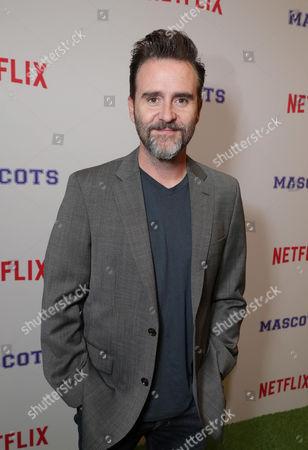 Christopher Moynihan seen at Netflix original film 'Mascots' Los Angeles Special Screening, in Los Angeles, CA