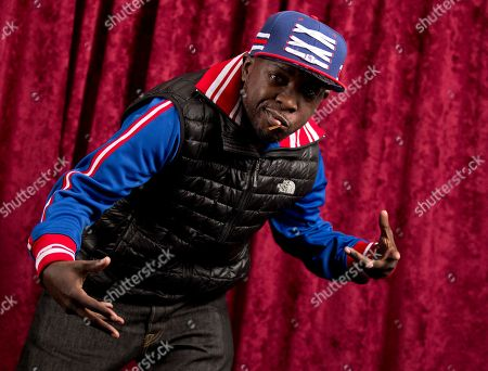 """Stock Photo of Malik Isaac Taylor aka Phife Dawg, of A Tribe Called Quest, poses for a portrait at Sirius XM studios in New York. A New York City street corner is now named the Malik """"Phife Dawg"""" Taylor Way. The late rapper from the group A Tribe Called Quest was honored, at the intersection of 192nd Street and Linden Boulevard in the St. Albans neighborhood in Queens"""