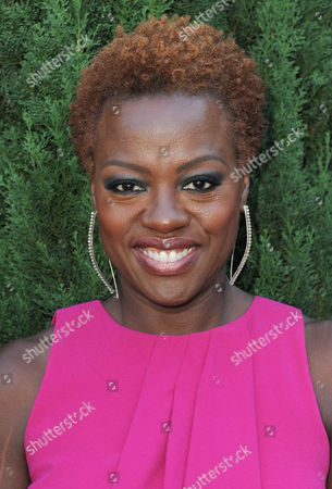 Viola Davis arrives at the Rape Treatment Center fundraiser at Greenacres, the private residence of Ron Burkle,, in Beverly Hills, Calif