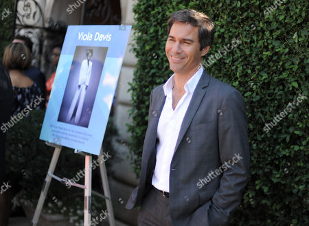 Eric McCormack arrives at the Rape Treatment Center fundraiser at Greenacres, the private residence of Ron Burkle,, in Beverly Hills, Calif