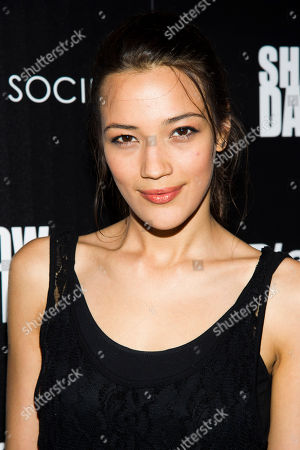 "Jade Tenholder attends a ""Shadow Dancer"" screening hosted the Cinema Society and BlackBerry on in New York"