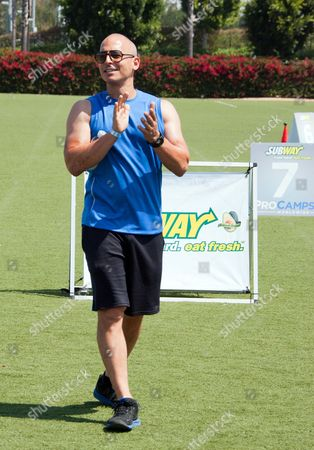 Trainer to the stars Harley Pasternak works out fans at the SUBWAY Superfood Training Camp on in Los Angeles, CA. Following the workout fans powered up with SUBWAY superfoods avocado and spinach, and hydrated with vitaminwater zero