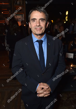 The Hollywood Reporter editor Stephen Galloway is seen at The Hollywood Reporter Next Gen 2014 Celebration presented by American Airlines, Lifetime, Samsung Galaxy, Mercedes Benz, and Travaasa at Hyde Sunset Kitchen and Cocktails, in West Hollywood, Calif