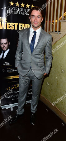 David Thaxton at The West End Men after party in London on Monday, May 3rd, 2013