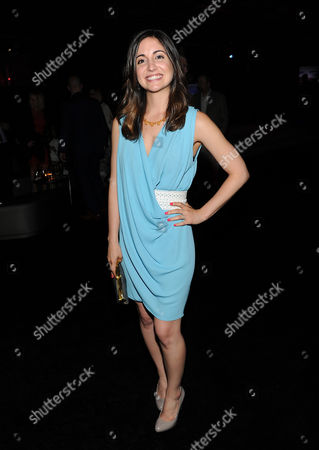 """Actress Rebecca Buller attends the """"Man Of Steel"""" world premiere after-party at Skylight at Moynihan Station on in New York"""