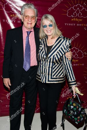 Robert Thurman and Nena Thurman attend the Tibet House US 11th Annual Benefit Auction on in New York