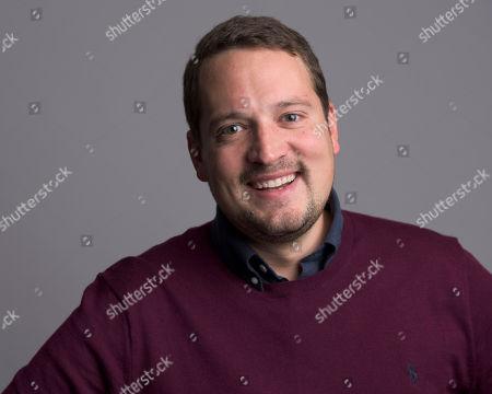 Editorial image of Carl-Johan Forssen Ehrlin Portrait Session, New York, USA - 5 Oct 2015