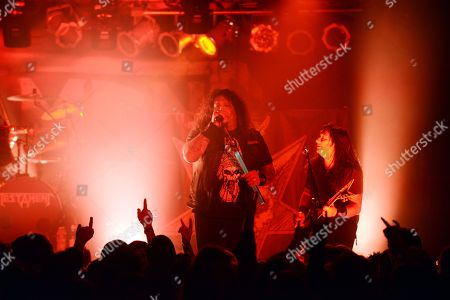 Chuck Billy, Eric Peterson of Testament performed, as part of The Dark Roots of Thrash Tour, at The Masquerade, in Atlanta