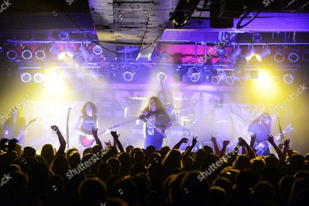 Alex Skolnick, Chuck Billy, Eric Peterson of Testament performed, as part of The Dark Roots of Thrash Tour, at The Masquerade, in Atlanta