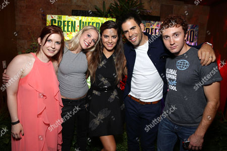 """Editorial image of Eli Roth and BH Tilt """"The Green Inferno"""" at 2015 Comic-Con, San Diego, USA - 9 Jul 2015"""