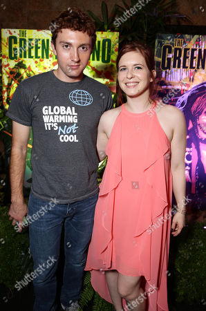 """Editorial photo of Eli Roth and BH Tilt """"The Green Inferno"""" at 2015 Comic-Con, San Diego, USA - 9 Jul 2015"""