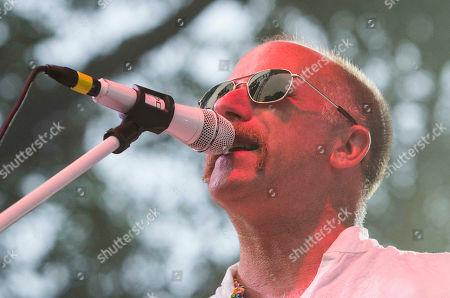 Stock Picture of Roddy Bottum with Faith No More performs at the Masquerade Music Park, in Atlanta