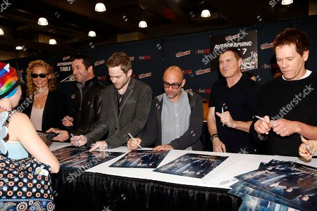 """Editorial image of FOX's """"The Following"""" at Comic Con - Day 3, New York, USA - 13 Oct 2013"""