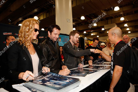 """Editorial picture of FOX's """"The Following"""" at Comic Con - Day 3, New York, USA - 13 Oct 2013"""