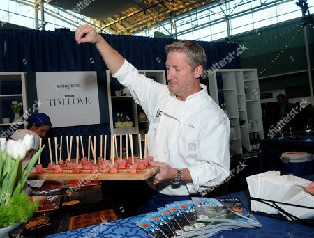Celebrity chef Tim Love teams up with Longines and Bon Appetit at the Taste of Derby, which kicks off the Kentucky Derby weekend, in Louisville, Ky. Longines, the Swiss watch manufacturer known for its luxury timepieces, is the Official Watch and Timekeeper of the 141st annual Kentucky Derby