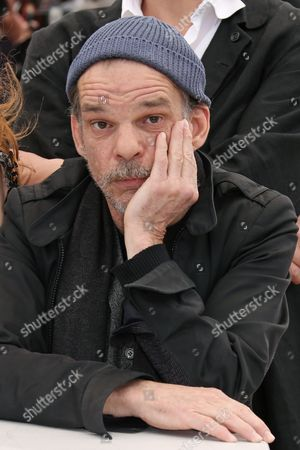Actor Denis Lavant poses for photographers during a photo call for the film Michael Kohlhaas at the 66th international film festival, in Cannes, southern France