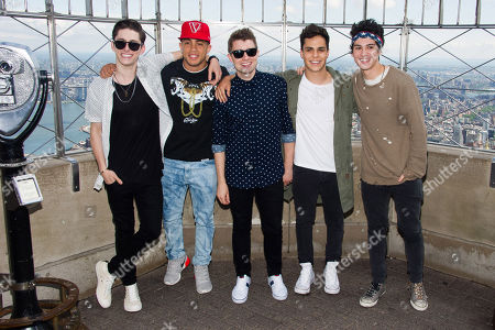 Editorial photo of Midnight Red Visit The Empire State Building, New York, USA - 5 Jun 2014