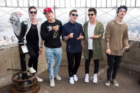 Editorial picture of Midnight Red Visit The Empire State Building, New York, USA - 5 Jun 2014