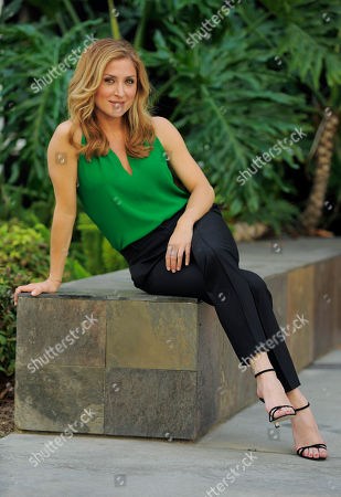 Editorial photo of People-Sasha Alexander, Los Angeles, USA - 18 Jun 2014