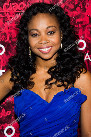 """Sheria Irving attends the after party for the Broadway opening of """"Romeo and Juliet"""" on in New York"""