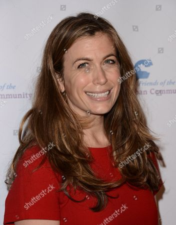 Actress Sonya Walger arrives at the Saban Community Clinic's benefit gala at the Beverly Hilton on in Beverly Hills, Calif