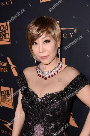 Sumi Jo seen at Twentieth Century Fox Academy Awards Party at Hollywood Athletic Club, in Los Angeles, CA