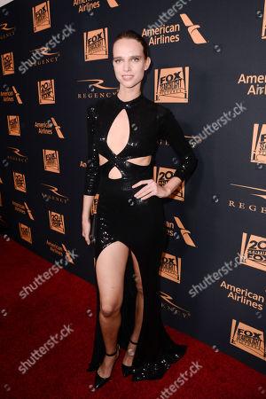 Stock Image of Masha Rudenko seen at Twentieth Century Fox Academy Awards Party at Hollywood Athletic Club, in Los Angeles, CA