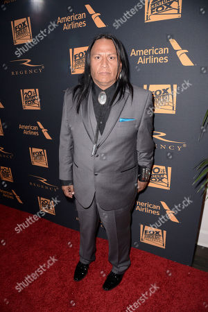 Stock Image of Arthur Redcloud seen at Twentieth Century Fox Academy Awards Party at Hollywood Athletic Club, in Los Angeles, CA