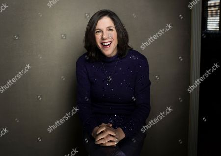 "Director Alexandra Pelosi from the film ""Fall to Grace"" poses for a portrait during the 2013 Sundance Film Festival on in Park City, Utah"