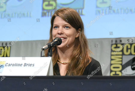 "Stock Photo of Caroline Dries attends ""The Vampire Diaries"" panel on day 4 of Comic-Con International, in San Diego"