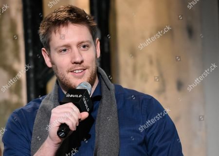 """Writer/director Neill Blomkamp participates in AOL's BUILD Speaker Series to discuss their new film """"Chappie"""" at AOL Studios, in New York"""