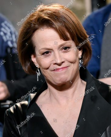 """Sigourney Weaver participates in AOL's BUILD Speaker Series to discuss their new film """"Chappie"""" at AOL Studios, in New York"""