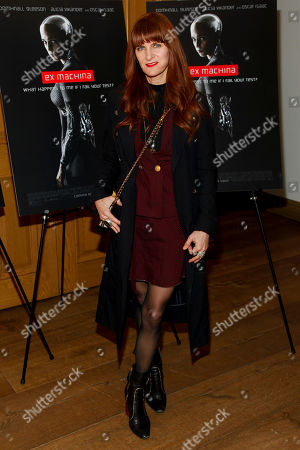 "Megan DiCiurcio attends a special screening of ""Ex Machina"" at the Crosby Street Hotel, in New York"