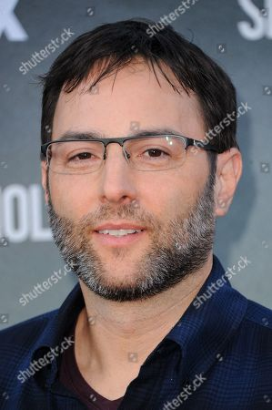 """Mark Goffman arrives at the Special Screening Of Season Two of """"Sleepy Hollow"""" held at the Hollywood Forever Cemetery on in Los Angeles"""