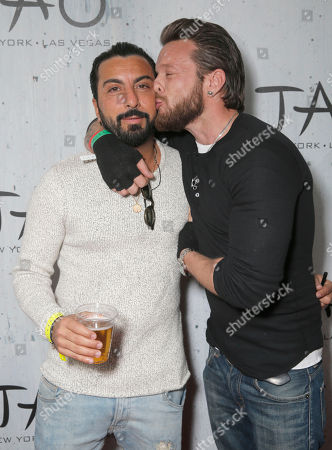 Danny A. Abeckaser and Jamie McCarthy attend TAO Sundance, in Park City, Utah