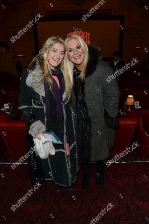 Vanessa Feltz and daughter Saskia Kurer seen at the launch of Disneyâ?™s arcade-game-hopping adventure â?˜Wreck-It Ralphâ?™ at the Electric Cinema, Notting Hill, in London