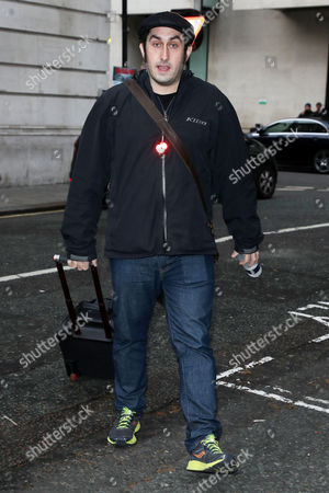 Editorial image of Celebrities out and about, London, UK - 10 Nov 2017