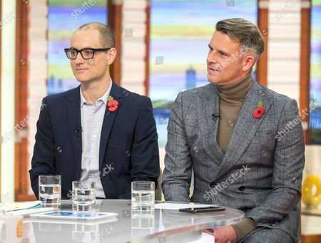 Editorial image of 'Good Morning Britain' TV show, London, UK - 10 Nov 2017