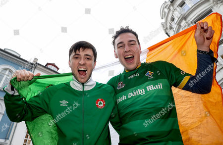 Jamie Keenan and Michael O'Niell from Newry