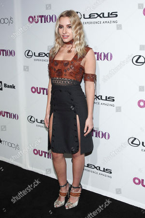 Sophie Beem attends the 22nd Annual OUT100 Celebration Gala at the Altman Building, in New York