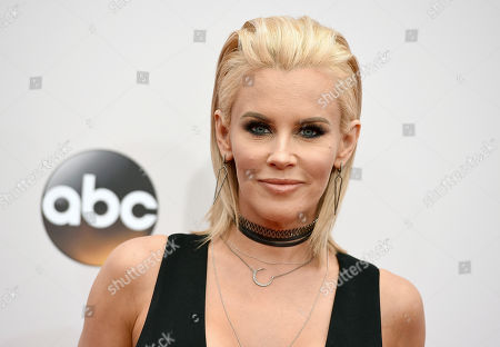 """Jenny McCarthy arrives at the American Music Awards at the Microsoft Theater in Los Angeles. McCarthy says actor Steven Seagal sexually harassed her during a 1995 audition. The former Playboy model recounted her encounter with Seagal during a tryout for """"Under Siege 2"""" on her Sirius XM radio show"""