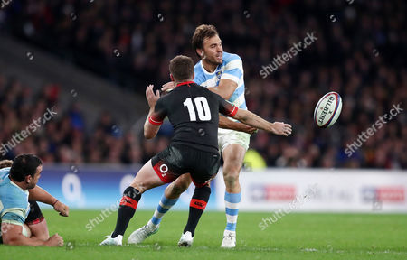 Editorial picture of England v Argentina, Autumn International, Old Mutual Wealth Series, Rugby Union, Twickenham, London, UK - 11 Nov 2017