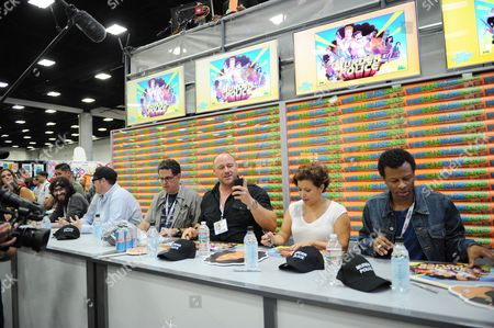 Editorial image of 2013 Comic-Con - FOX Murder Police Booth Signing, San Diego, USA - 18 Jul 2013