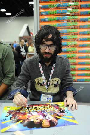 Editorial photo of 2013 Comic-Con - FOX Murder Police Booth Signing, San Diego, USA - 18 Jul 2013