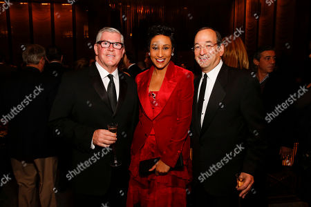 Don Welsh, Desiree Rogers, and Steve Koch seen at the 2014 James Beard Foundation Gala: Celebrating Charlie Trotter and the New American Cuisine at the Four Seasons Restaurant, on in New York